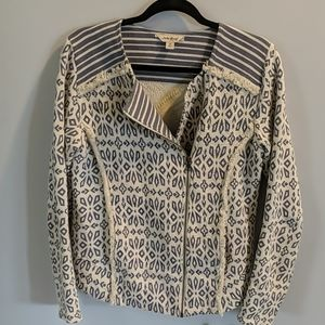 Lucky Brand Patterned Jacket Medium